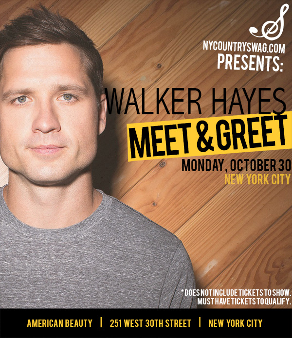 Walker hayes archives nycs win a meet greet with walker hayes m4hsunfo