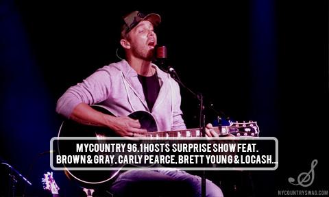 MyCountry 96.1 Secret Show