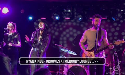 Ryan Kinder Mercury Lounge