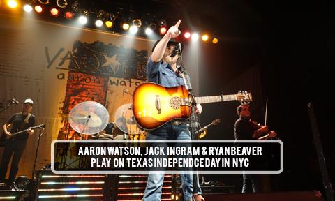 Aaron Watson NYC